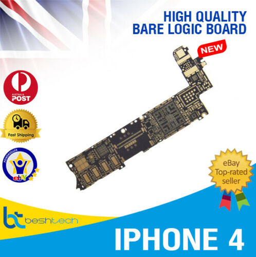 iPhone 4 Brand New Bare Motherboard Logic Main Board High Quality