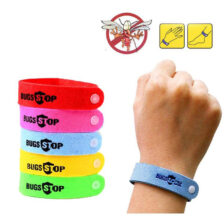Anti Mosquito Mozzie Insect Bugs Repellent Repeller Wrist Bands Wristband