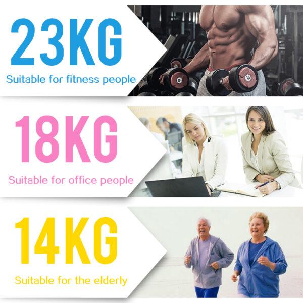 Hand Grip Ball Egg Men Women Gym Fitness Finger Heavy Exerciser Strength Muscle Recovery Gripper Trainer
