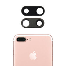 iPhone 7 Plus Rear Glass Back Camera Lens + Frame Housing